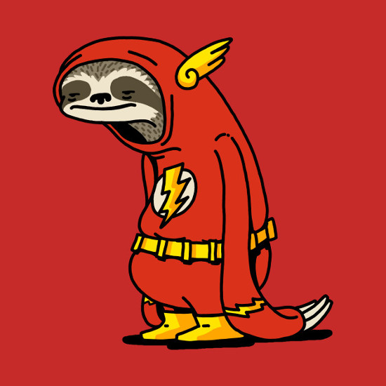 The Flash Sloth T-Shirt