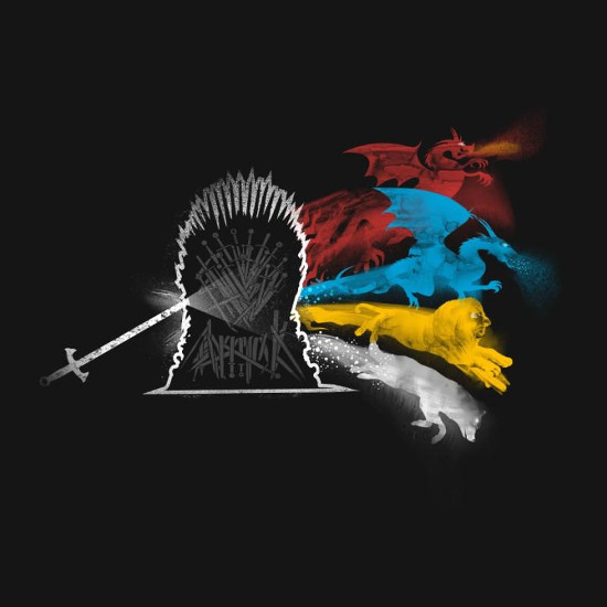The Dark Side of the Throne Game of Thrones T-Shirt