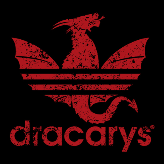 Dracarys Adidas Game of Thrones T-Shirt
