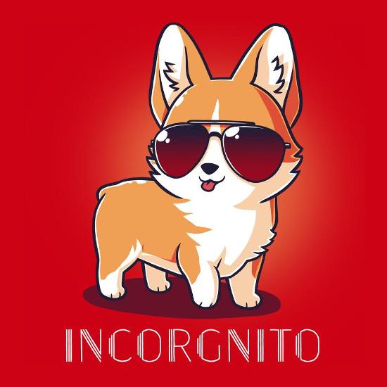 Incorgnito Corgi Incognito T-Shirt