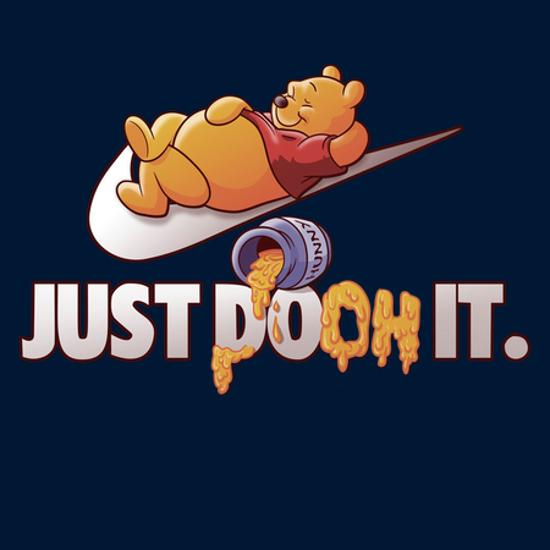 Just Pooh It Winnie the Pooh Nike T-Shirt