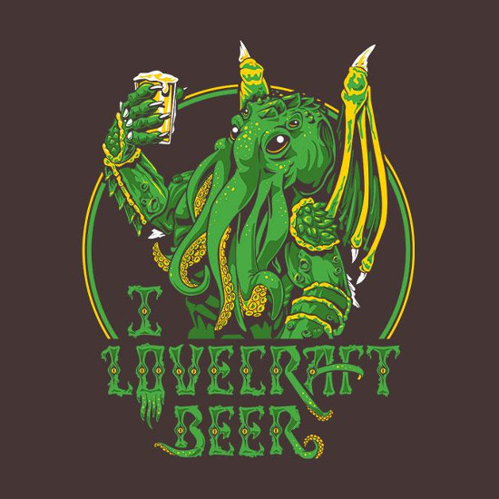 I Lovecraft Beer Cthulhu T-Shirt
