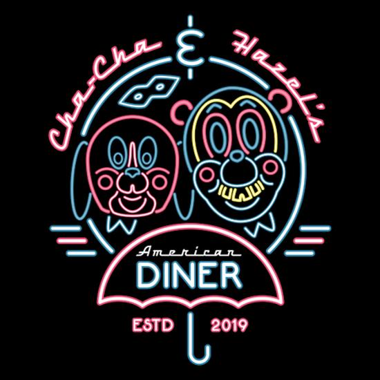Cha-Cha & Hazel's Diner Umbrella Academy T-Shirt