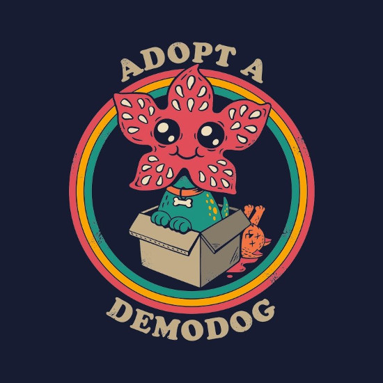 Adopt a Demodog Stranger Things T-Shirt