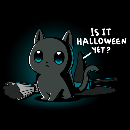 Is It Halloween Yet? Cat T-Shirt