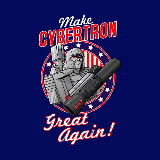 Make Cybertron Great Again Transformers T-Shirt
