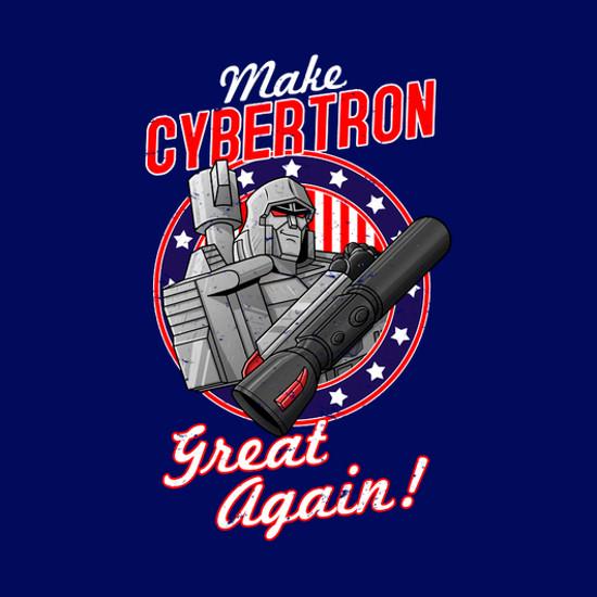 Make Cybertron Great Again Megatron Transformers T-Shirt