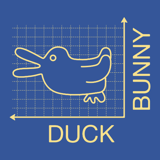 Duck or Bunny Graph T-Shirt